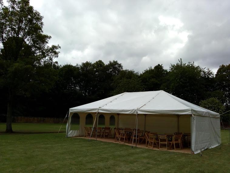 20x30ft (6x9m) Modular frame tent