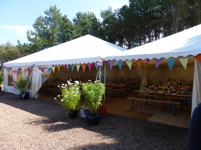 30x50ft Modular frame tent