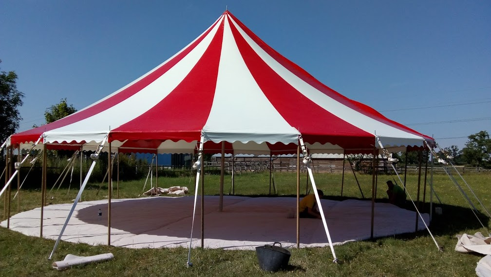 40ft round Circus tent