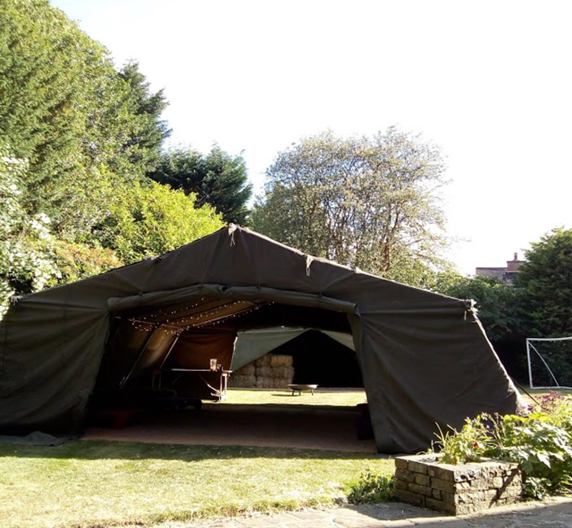 21x24ft Army tent