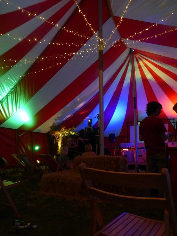 40x60ft Circus tent interior