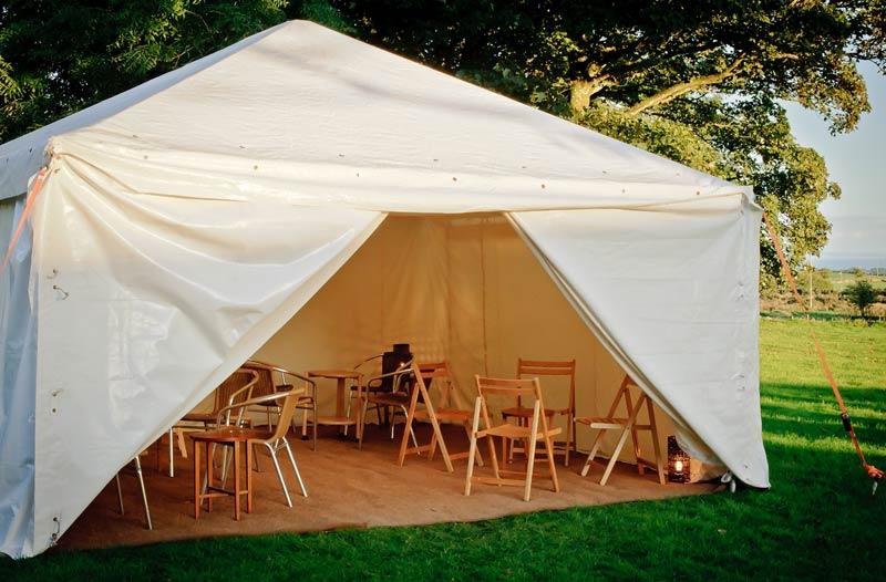 15x15ft Modular frame tent