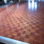 Parquet dancefloor for hire
